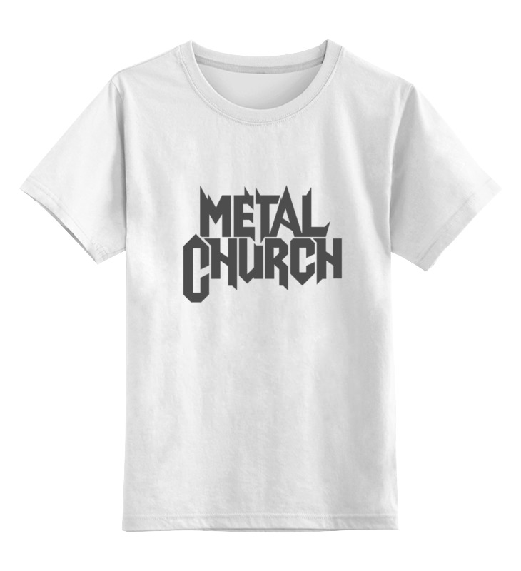 Детская футболка классическая унисекс Printio Metal church виниловая пластинка metal church metal church