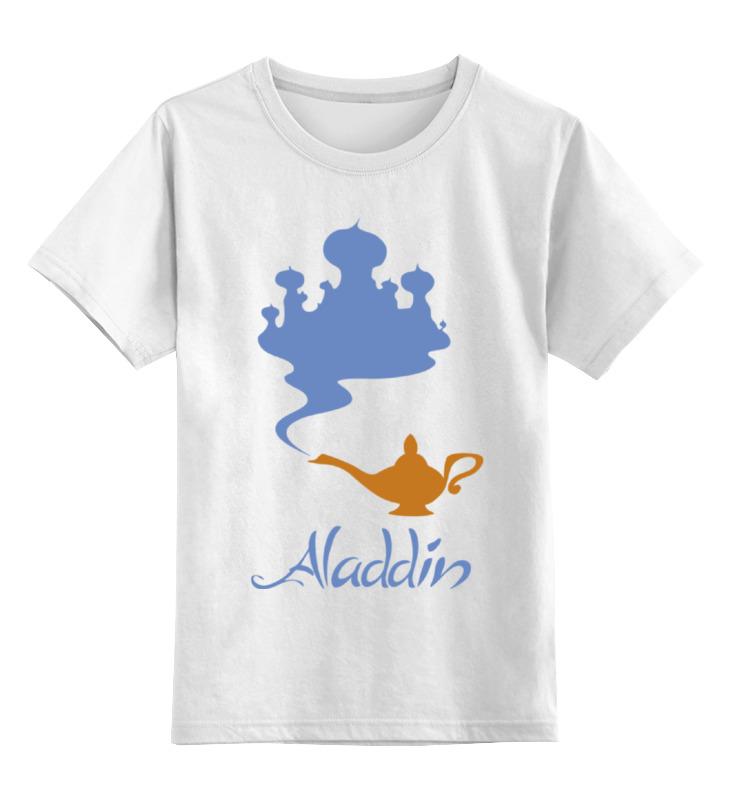 Детская футболка классическая унисекс Printio Аладдин цена и фото