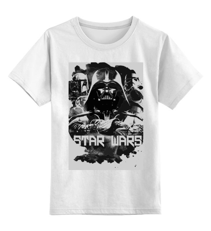 Детская футболка классическая унисекс Printio Star wars цена и фото