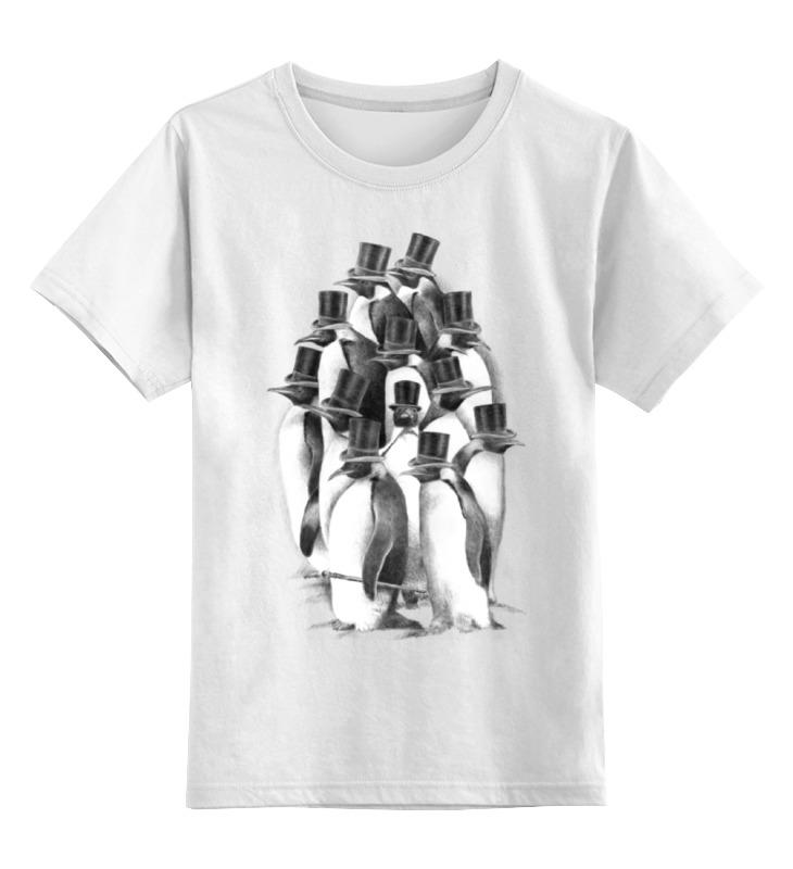 Детская футболка классическая унисекс Printio Джентльмены футболка классическая printio джентльмены удачи