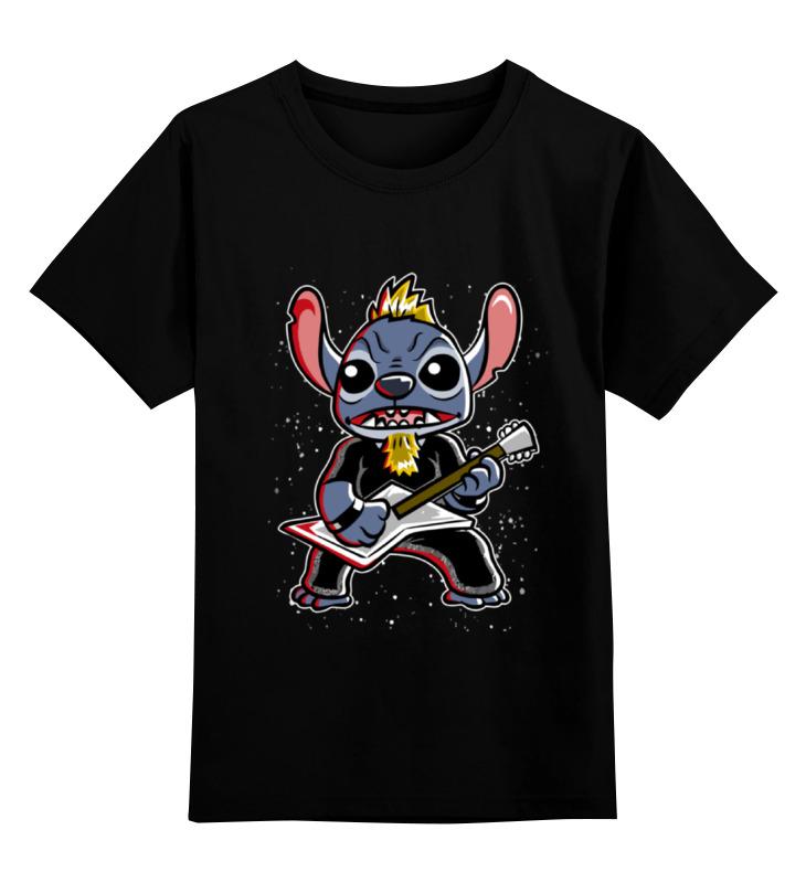 Детская футболка классическая унисекс Printio Стич. детские пижамы футужама детская пижама кигуруми стич 4 6 лет