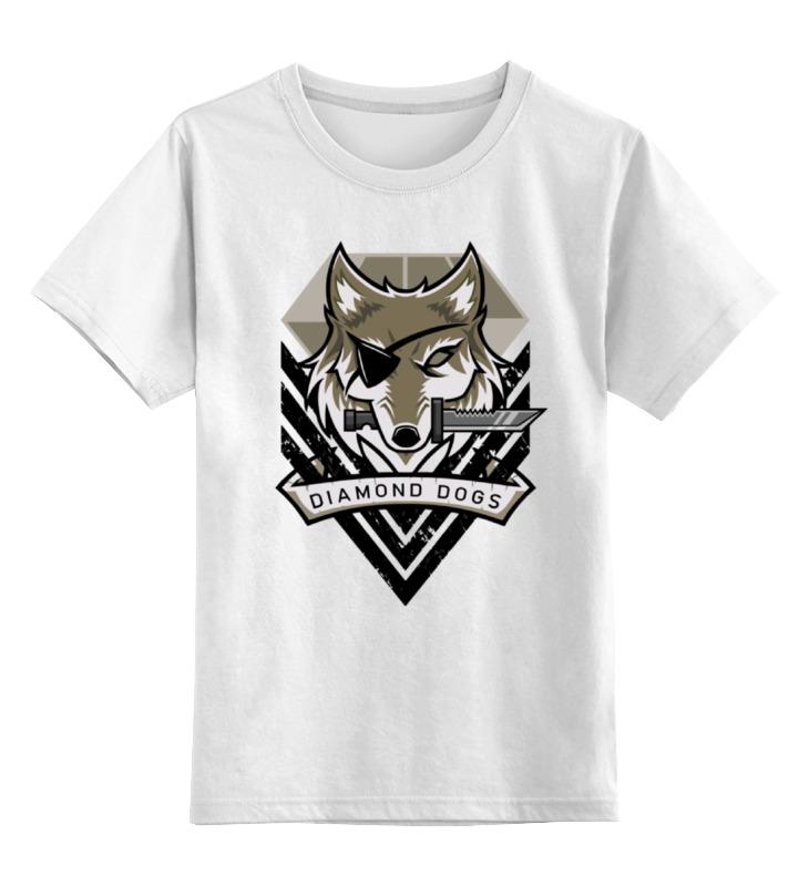Детская футболка классическая унисекс Printio Diamond dogs (metal gear solid)