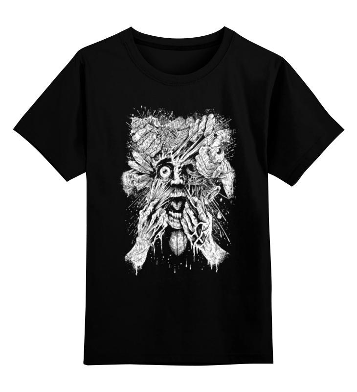 Детская футболка классическая унисекс Printio Art horror цена и фото