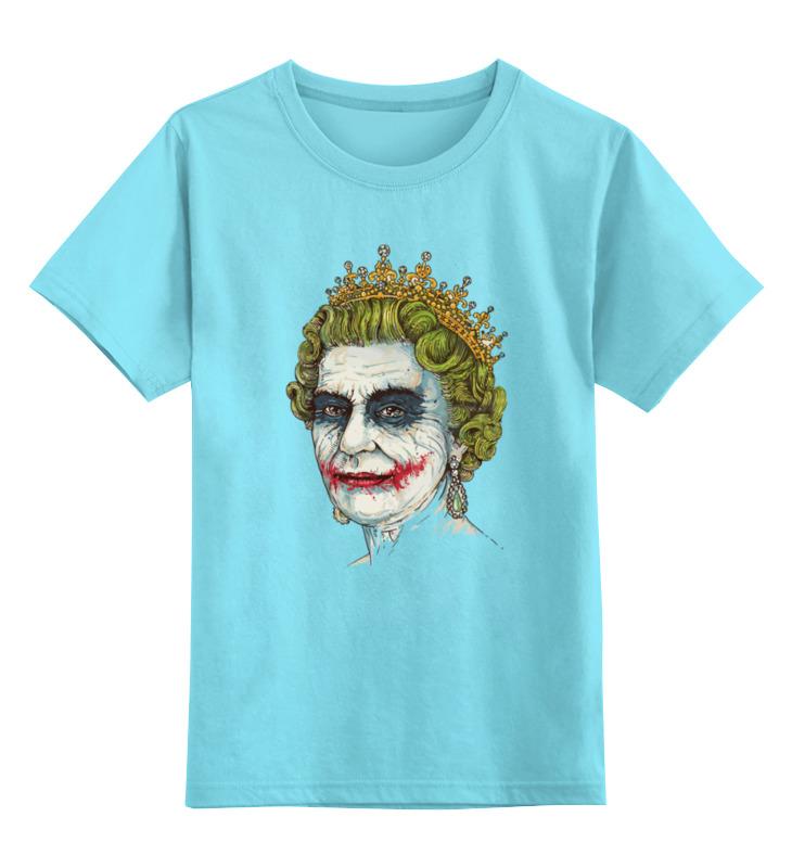 Детская футболка классическая унисекс Printio Боже храни джокера