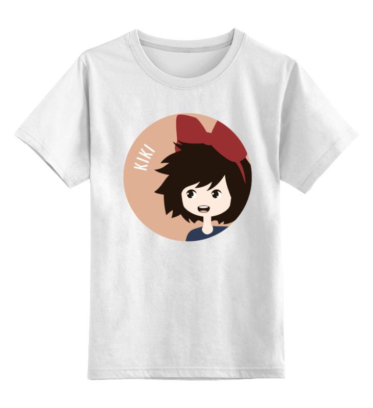 Детская футболка классическая унисекс Printio Кики (ведьмина служба доставки) цена