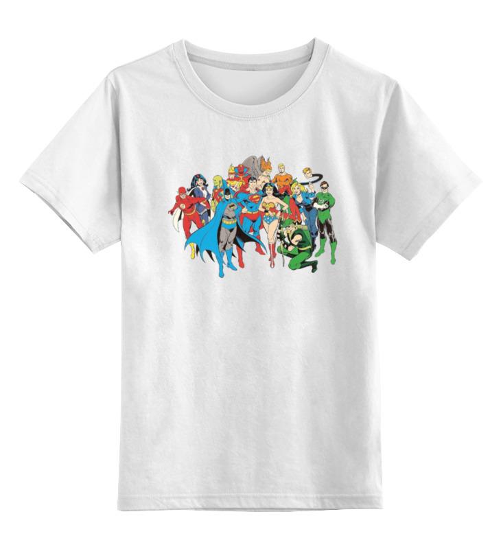 Детская футболка классическая унисекс Printio Комикс dc футболка детская dc star lemon chrome