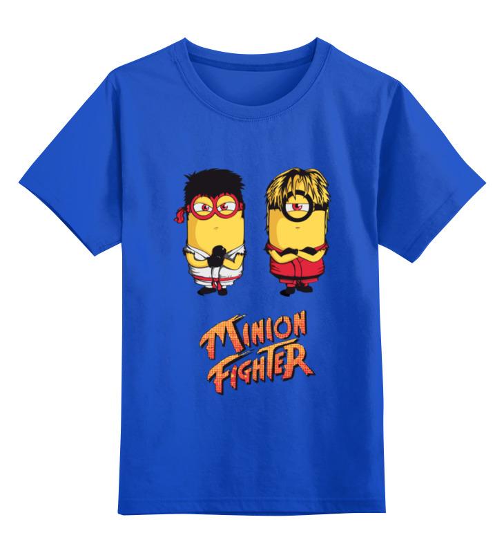 все цены на Детская футболка классическая унисекс Printio Minion fighter