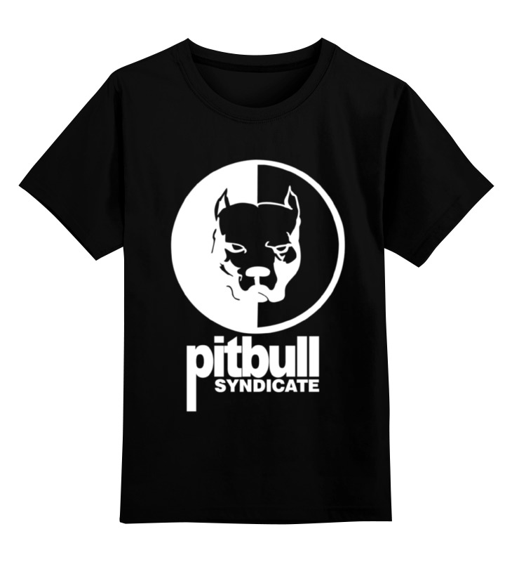 Детская футболка классическая унисекс Printio Pitbull syndicate футболка wearcraft premium printio pitbull syndicate