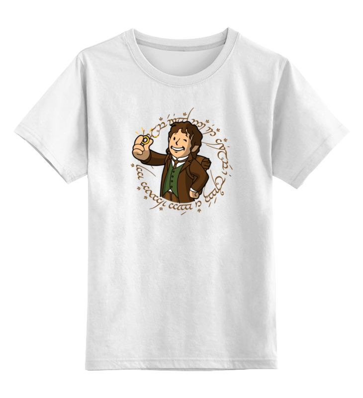 Детская футболка классическая унисекс Printio Властелин колец (фэллаут) цена и фото