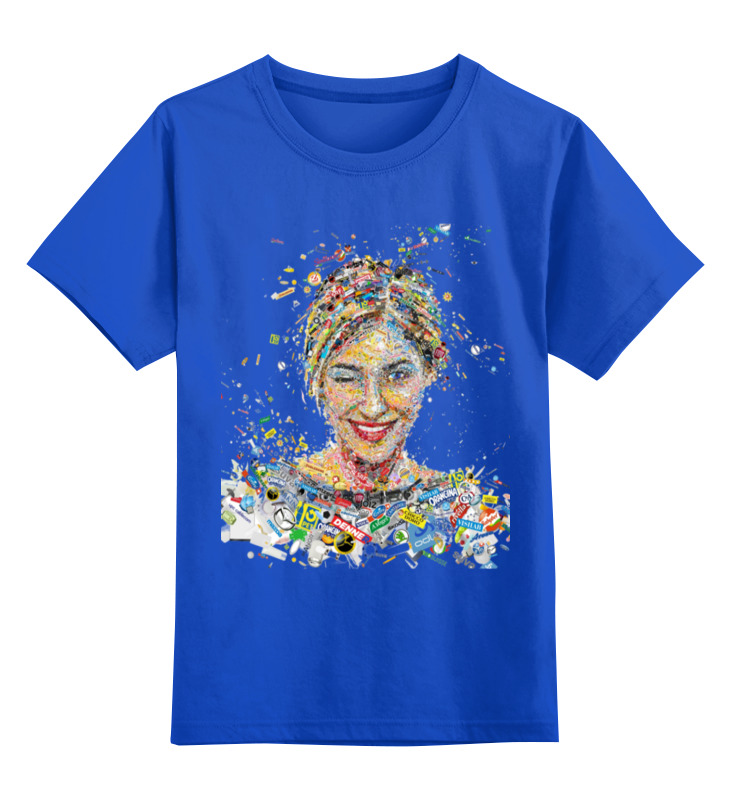 Детская футболка классическая унисекс Printio Девушка детская футболка классическая унисекс printio девушка
