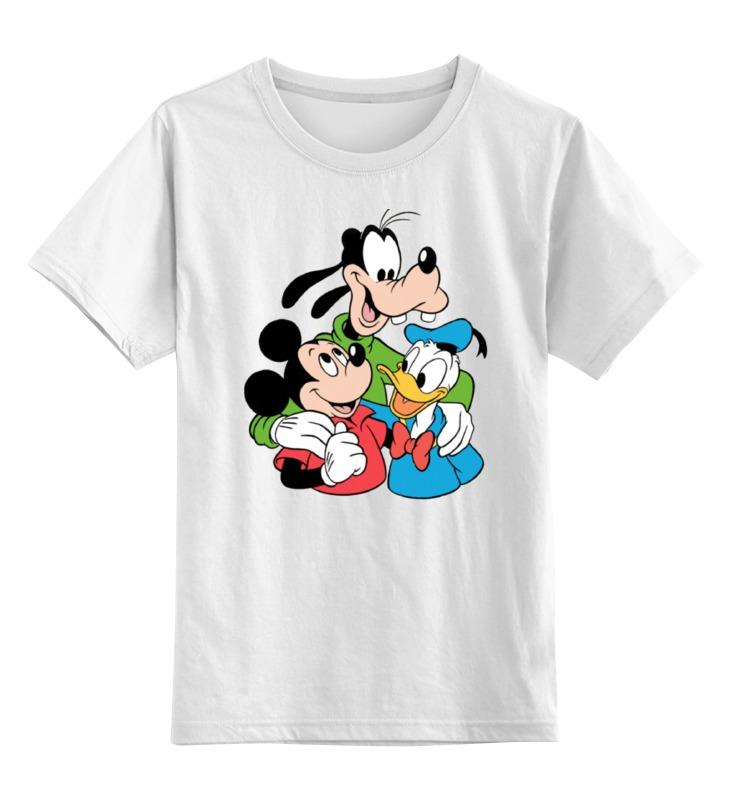 Детская футболка классическая унисекс Printio Герои диснеевских мультфильмов гусарова н ред суперраскраска герои любимых мультфильмов