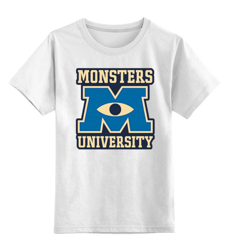 Детская футболка классическая унисекс Printio Monsters university футболка классическая printio monsters university