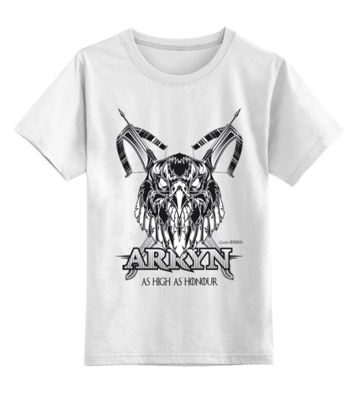 Детская футболка классическая унисекс Printio Орел арренов (игра престолов) футболка wearcraft premium printio игра престолов