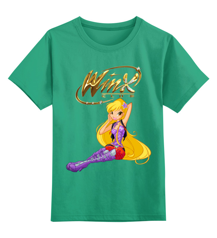 Детская футболка классическая унисекс Printio Winx club winx club на плечо 2 winx club city dots