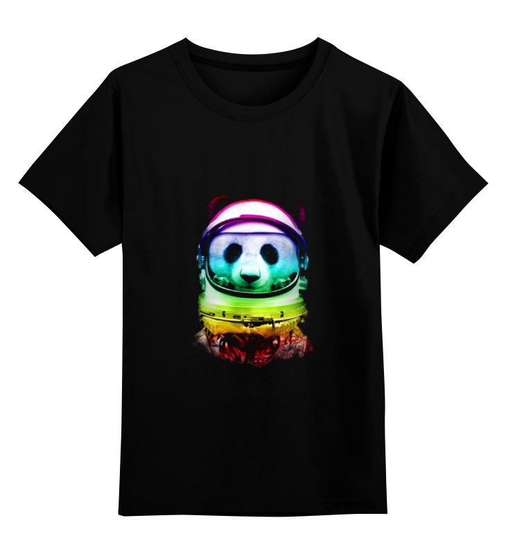 Детская футболка классическая унисекс Printio Космическая панда детская футболка классическая унисекс printio король панда