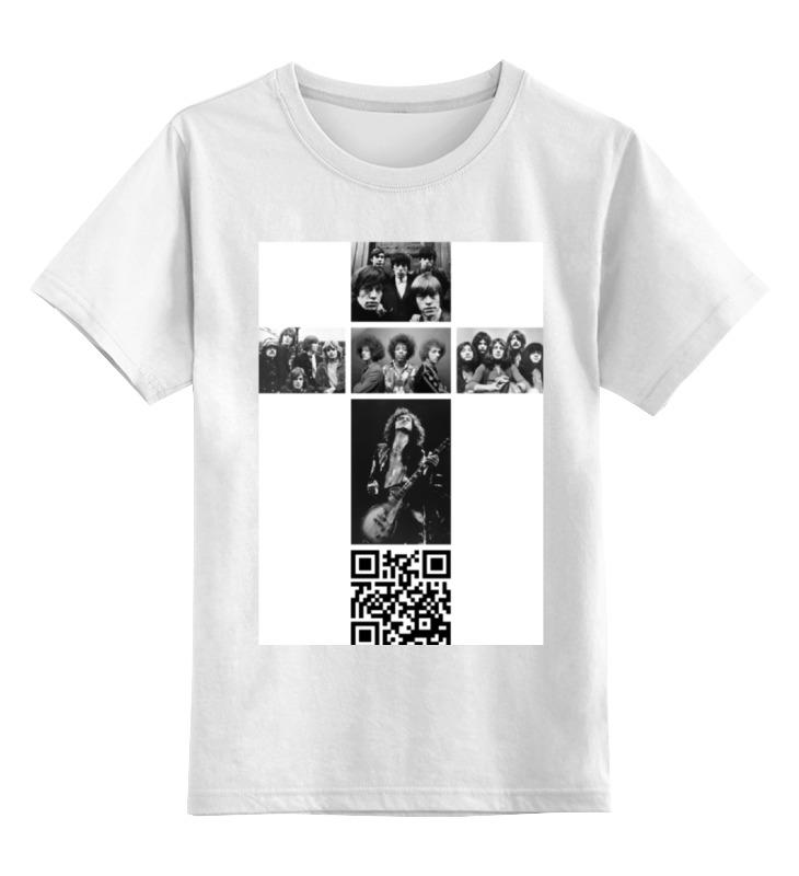 Детская футболка классическая унисекс Printio Крест рокера детская футболка классическая унисекс printio армянский крест