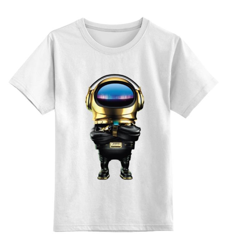 Детская футболка классическая унисекс Printio Alfa future people goldman футболка классическая printio junk people