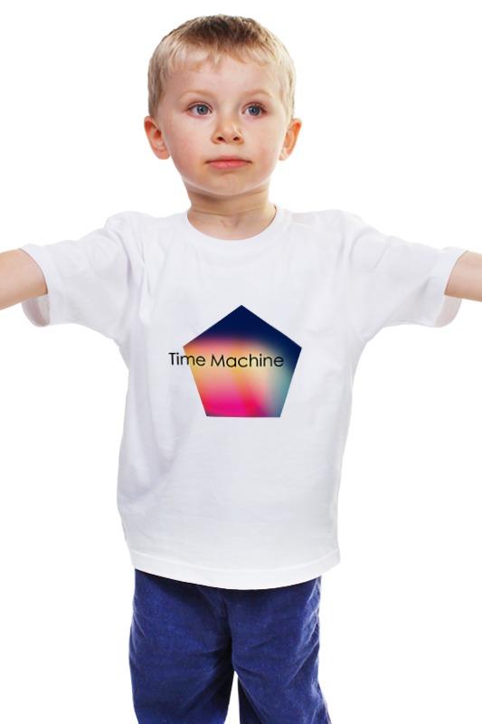 Детская футболка классическая унисекс Printio Time machine футболка toy machine leopard brown