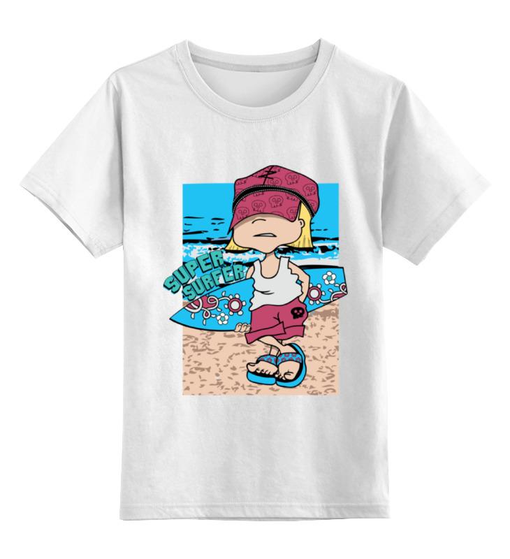 Детская футболка классическая унисекс Printio Super surfing лонгслив printio super surfing