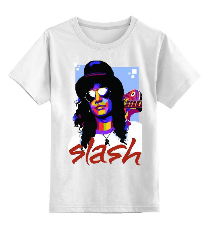 Детская футболка классическая унисекс Printio Slash цена