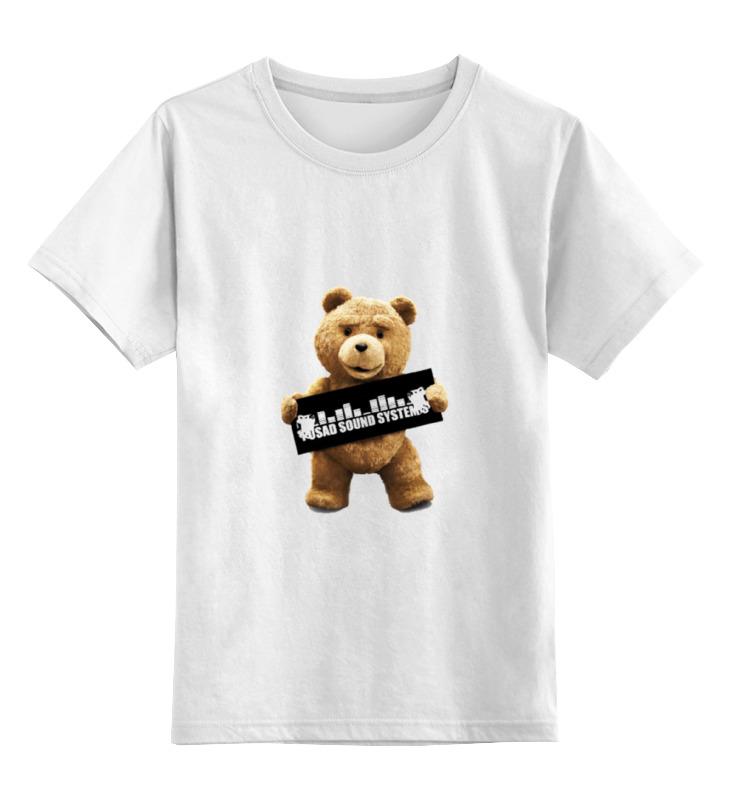 Детская футболка классическая унисекс Printio Ted pss сумка printio ted pss