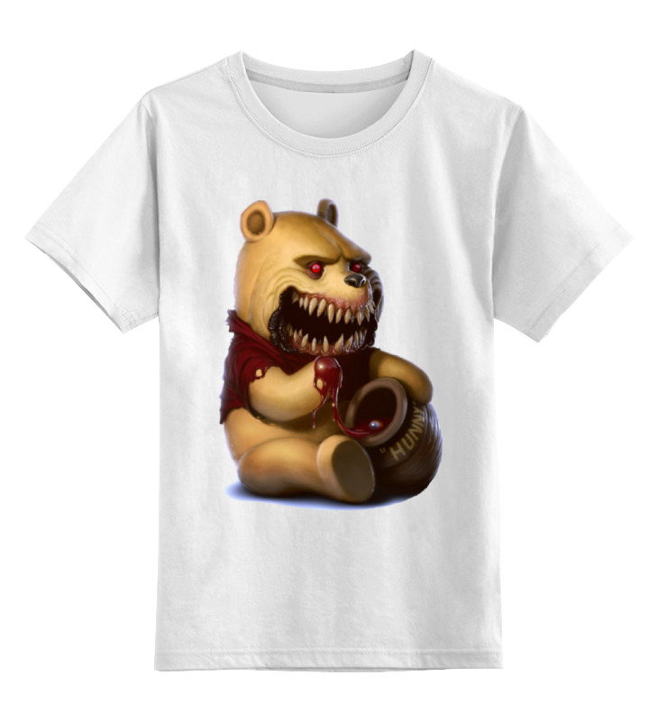 Детская футболка классическая унисекс Printio Винни пух лодка надувная детская intex винни пух 58394