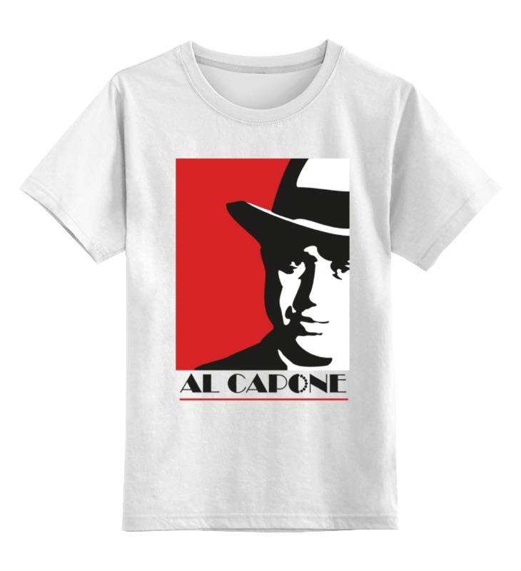 Printio Аль капоне (al capone) детская футболка классическая унисекс printio гангстер gangster