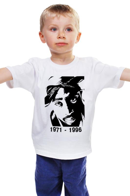Детская футболка классическая унисекс Printio 2pac 71-96 футболка классическая printio 2pac
