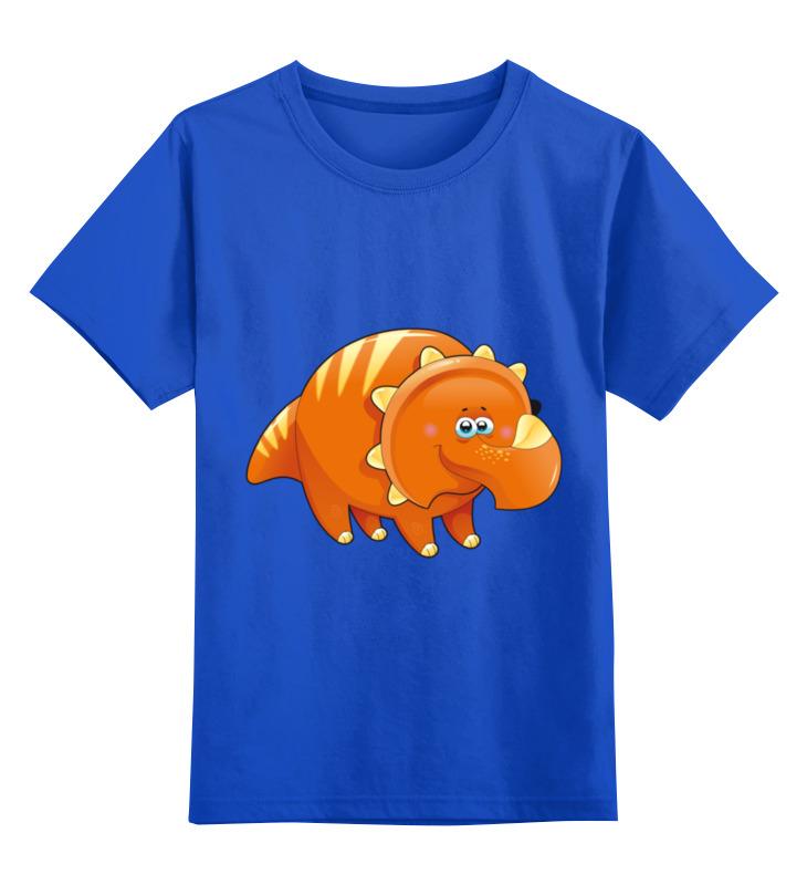 цена на Детская футболка классическая унисекс Printio Забавный динозавр