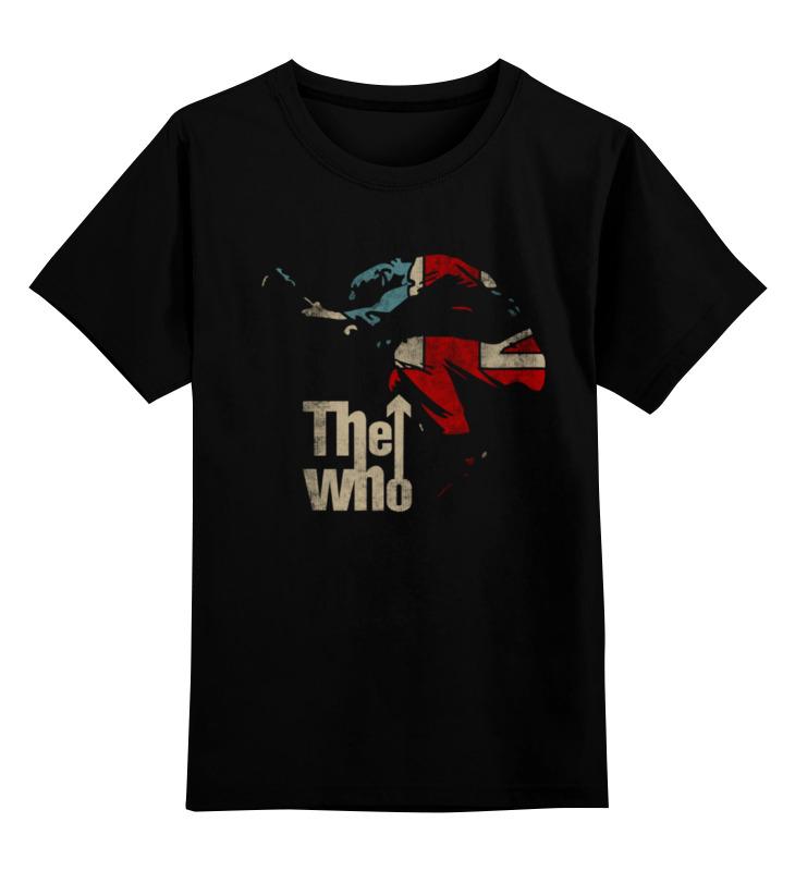 Детская футболка классическая унисекс Printio The who