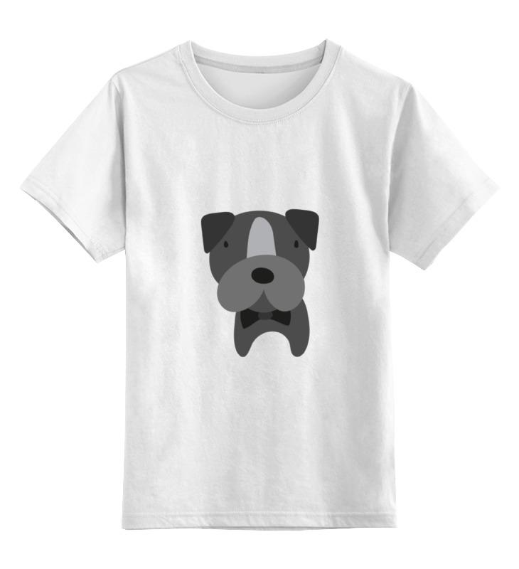 Детская футболка классическая унисекс Printio Собака детская футболка классическая унисекс printio собака german shepherd