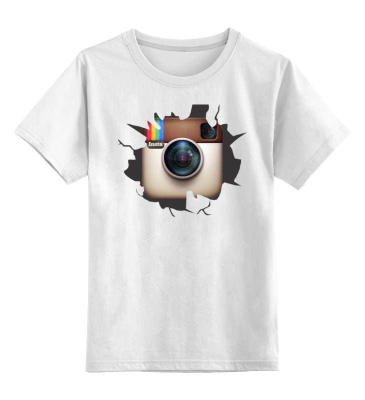 Детская футболка классическая унисекс Printio Instagram футболка классическая printio instagram