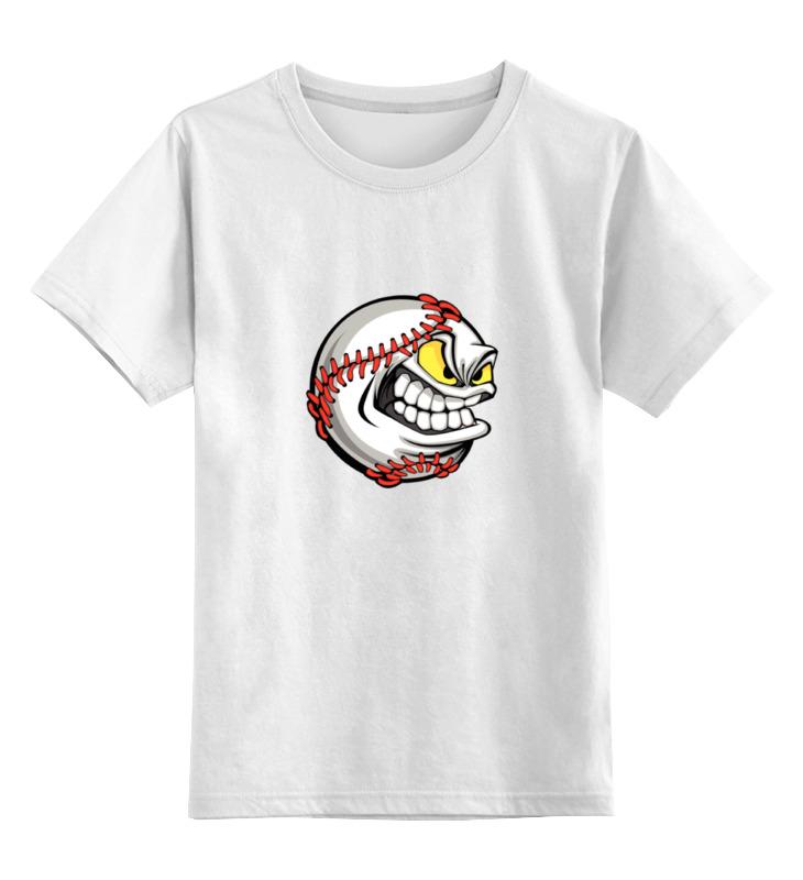 Детская футболка классическая унисекс Printio Бейсбол цена и фото