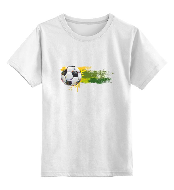 Детская футболка классическая унисекс Printio Футбольный мяч детская футболка классическая унисекс printio бразилия