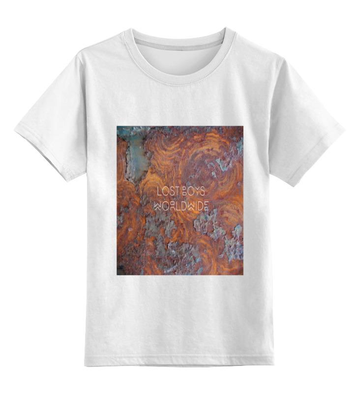 Детская футболка классическая унисекс Printio Lost boys rusty цена и фото