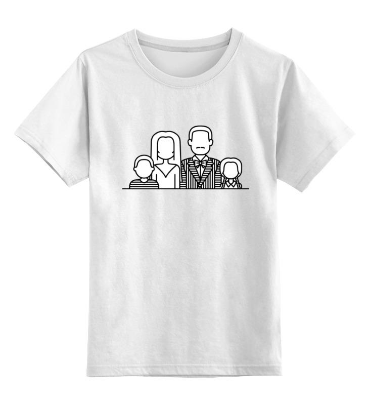 Детская футболка классическая унисекс Printio Семейка аддамс