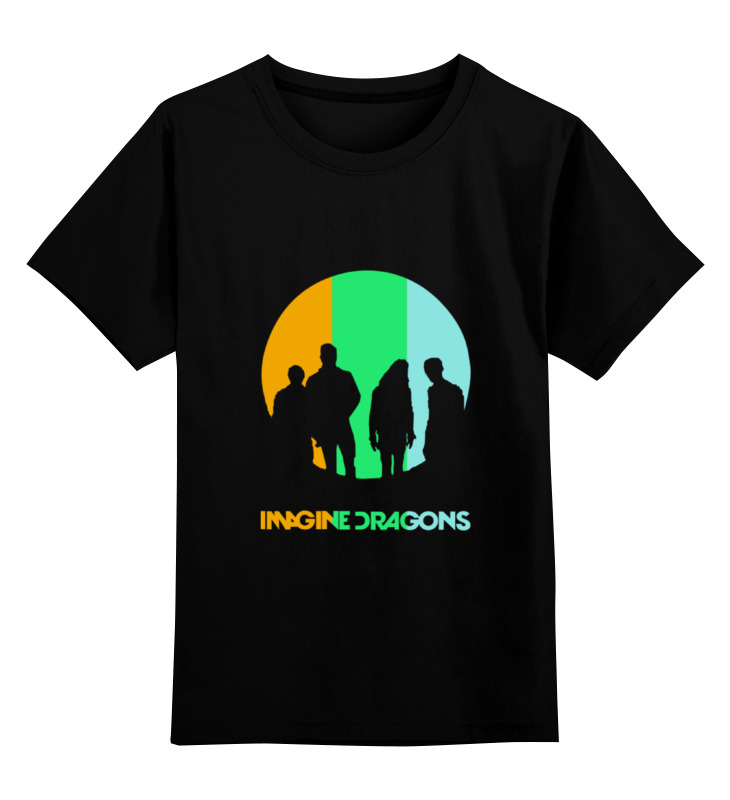 Детская футболка классическая унисекс Printio imagine dragons imagine dragons imagine dragons night visions