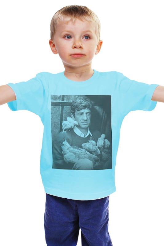 Детская футболка классическая унисекс Printio Jean paul belmondo jean paul gaultier vintage двубортное пальто