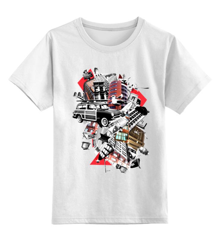 Детская футболка классическая унисекс Printio Gorod цены онлайн