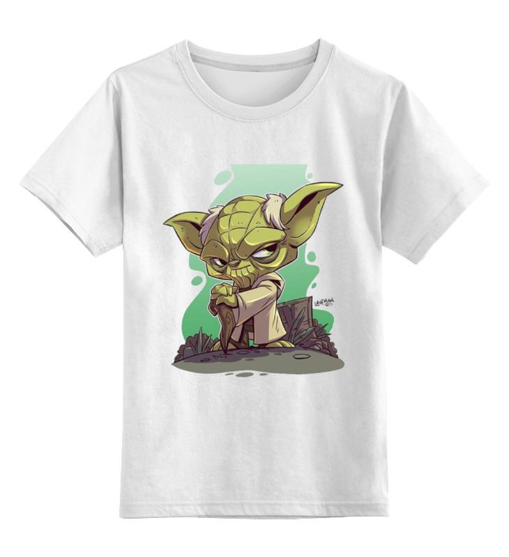 Printio Мастер йода детская футболка классическая унисекс printio дождливый вечер