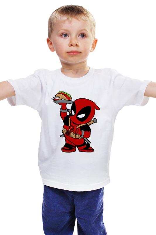 Детская футболка классическая унисекс Printio Deadpool детская футболка классическая унисекс printio мачете
