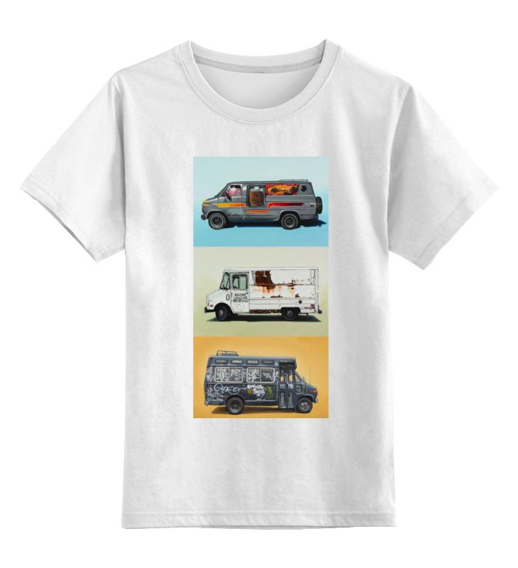 Фото - Детская футболка классическая унисекс Printio Car авто