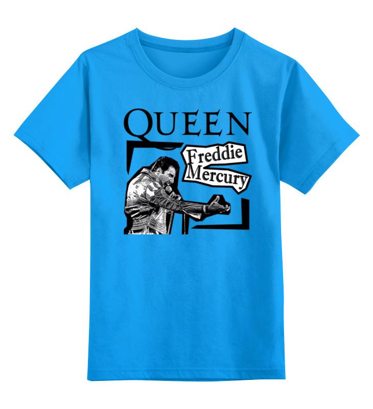Детская футболка классическая унисекс Printio Freddie mercury - queen футболка классическая printio queen