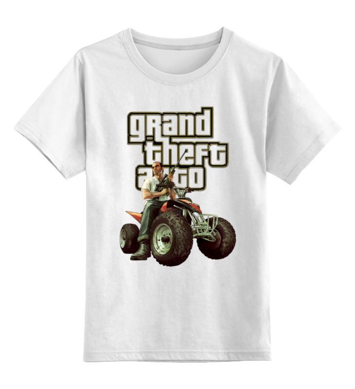 Детская футболка классическая унисекс Printio Gta. футболка классическая printio gta 5 dog