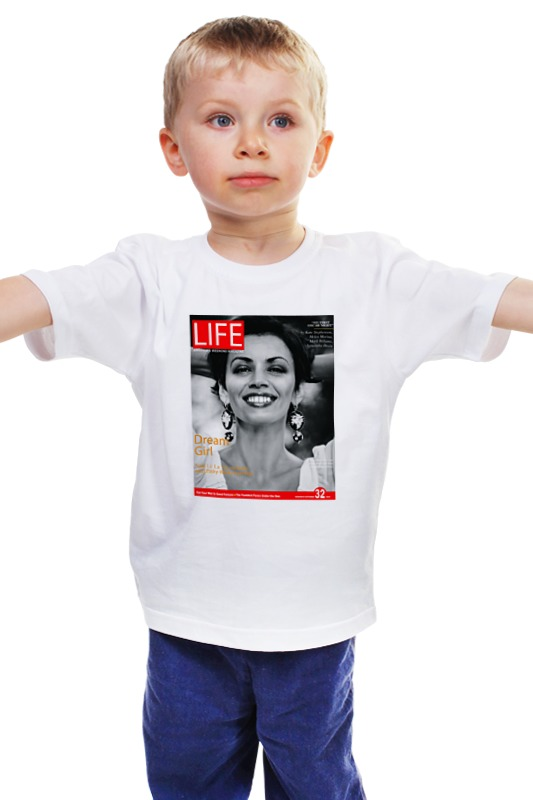 Детская футболка классическая унисекс Printio Жизнь удалась giftman банный колпак жизнь удалась шерсть с хлопком