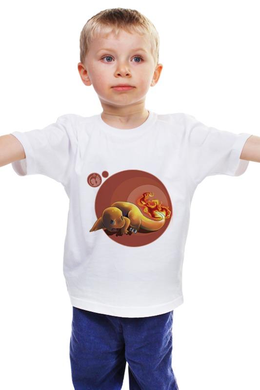 Детская футболка классическая унисекс Printio Чармандер детская футболка классическая унисекс printio мачете