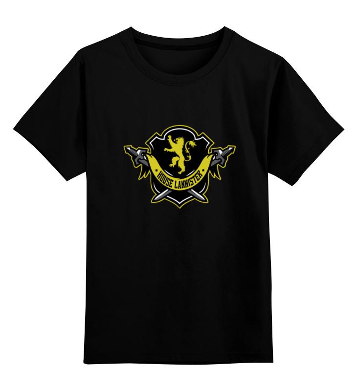 Детская футболка классическая унисекс Printio House lannister детская футболка классическая унисекс printio мачете