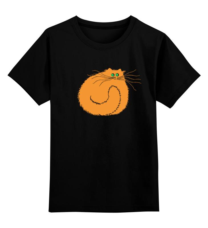 все цены на Детская футболка классическая унисекс Printio Рыжий котяра онлайн