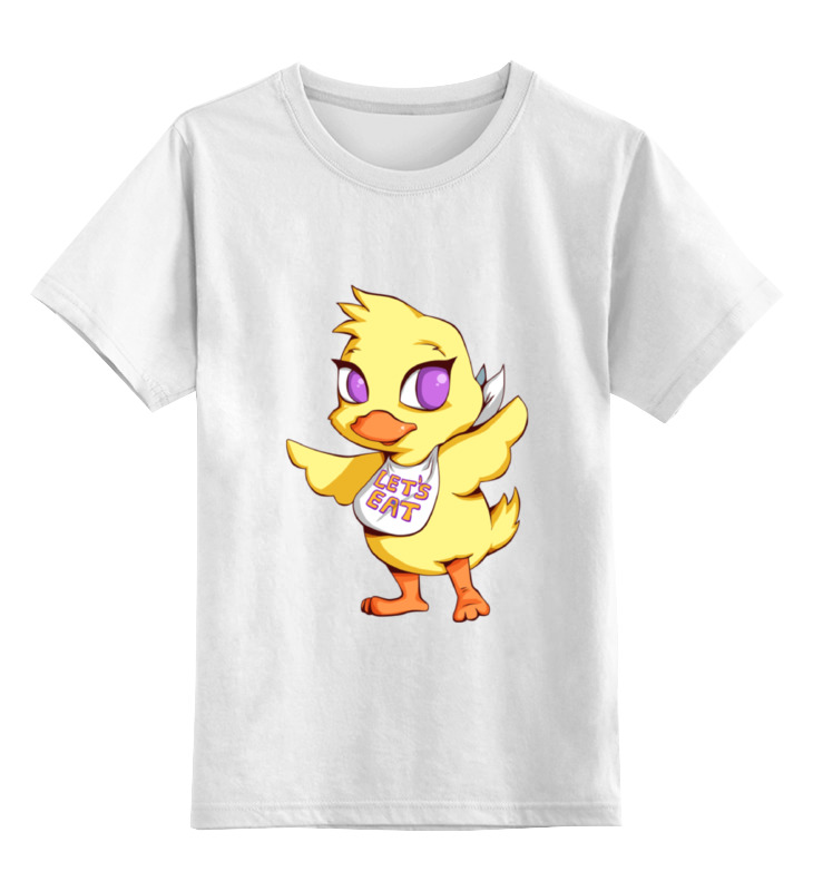 Детская футболка классическая унисекс Printio Five nights at freddy`s (файф найт эт фредди) детская футболка классическая унисекс printio five nights at freddy