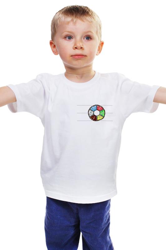 Детская футболка классическая унисекс Printio Пончик симпсоны спрингфилд игра как пончики